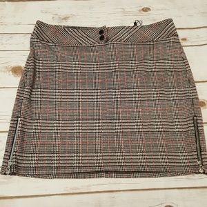 Express Skirts - Express Plaid Mini Skirt